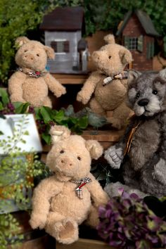 Charlie Bear Dreamkeeper Limited Edition 2016 Mohair Bear Do You Want To Buy Some Chinese Native Produce? Bears