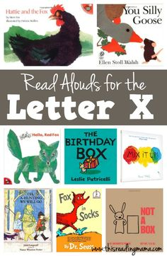 Letter X Books - Read Alouds for the Letter X
