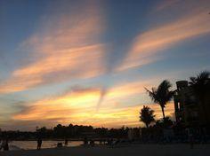 sunset @ playa del carmen