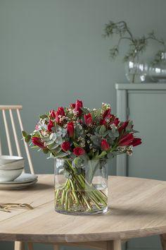 Glass Vase, Christmas, Home Decor, Xmas, Decoration Home, Room Decor, Weihnachten, Yule, Jul