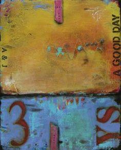 "Saatchi Art Artist Ati Sedgwick; Painting, ""A Good Day"" #art"