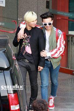 BIGBANG - Daesung and G Dragon