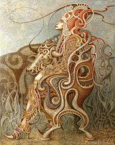 Impresionantes óleos de Boris Indrikov
