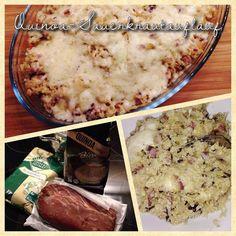 EDEKA-Testerin LoryGlory hat einen leckeren Quinoa-Sauerkrautauflauf gezaubert. Das Rezept findet Ihr auf www.mytest.de. #quinoa #sauerkraut #bio #festmahl #mytest