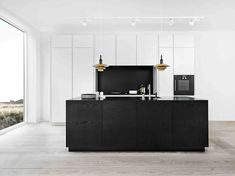 schwarz und matt die sch nsten k chen ideen und bilder schwarze k chen kochinsel und dunkle. Black Bedroom Furniture Sets. Home Design Ideas