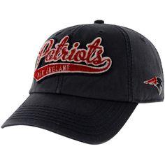 '47 Brand New England Patriots Womens Whiplash Adjustable Hat - Navy Blue