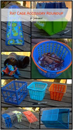 Good accessories for pet rat cage; low cost, easy to clean!  by serribrat