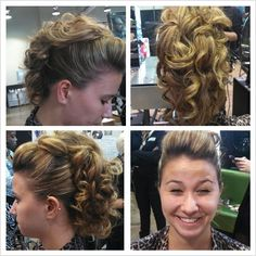 Mohawk Updo by me..Amore Monet!
