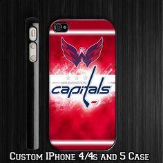 Washington Capitals Hockey Custom iPhone
