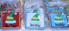 Elf cookie favors