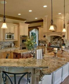 Image result for white tuscan kitchen