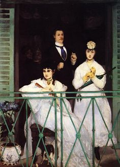 The Balcony (1869), by Edouard Manet