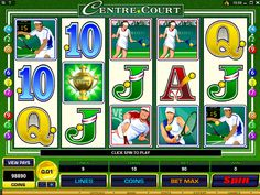Centre Court is a video slot machine game that Micrograming produces for online casinos. It boasts five reels and nine pay-lines, making it different from most Casino Classic, Tennis Online, Tennis Lessons, Play Casino, Free Slots, Play Centre, Casino Sites, Online Casino Bonus, Best Casino