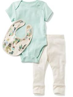 3-Piece Bodysuit Set for Baby   Old Navy
