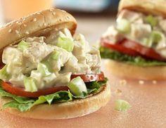 Picnic Chicken Salad Sandwiches - Secret Ingredient? Cream of celery soup
