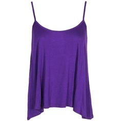 Tops (205 ARS) ❤ liked on Polyvore featuring tops, shirts, tank tops, tanks, purple top, purple checkered shirt, purple camisole top, purple tank and cami tank