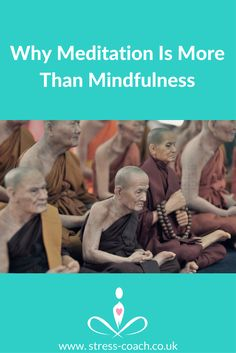 Why meditation is more than mindfulness . Powerful meditation techniques, meditation myths, mindfulness based stress reduction, traditional meditation origins