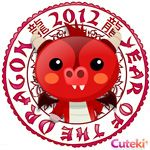 Cuteki widget: The Year of the Dragon: So cute #Widget #Dragon #Cuteki