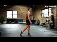 Hip Turn exercise to help you hit harder, swing faster, and throw faster from powercore360.com Softball Workouts, Softball Coach, Strength Training, Athlete, Kicks, Core, Exercise, Baseball, School