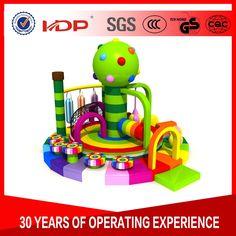 Children like to play soft, interesting Chinese soft play equipment