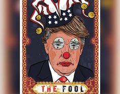 """Check out new work on my @Behance portfolio: """"""""The Fool"""" Trump Digital…"""
