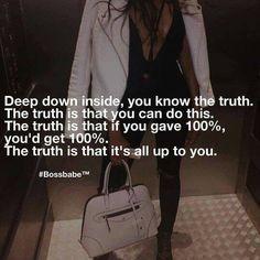 Truth! ✨