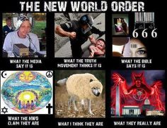 New World Order....see him, there he is.Spiritual wickedness in principalities and High Places.