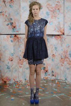 Desfile Calla coleccion moda primavera verano 2013 - 2014