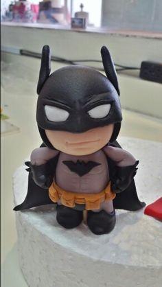 Because I'm Batman fondant figure