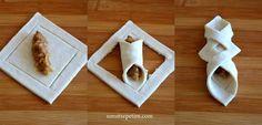 Pattern for Samosa folding