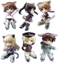 Strike Witches the Movie Toys works Collection 2.5 Deluxe Type-A Box Set