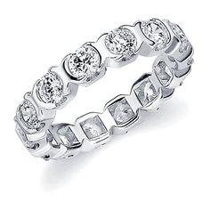 14K White Gold Diamond XO Eternity Ring (.50 cttw, H-I Color, I1-I2 Clarity) Size 5 Eternity Wedding Bands LLC http://www.amazon.com/dp/B00N9GDZQ8/ref=cm_sw_r_pi_dp_bEYkvb0B9Y0KE