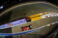 Ferrari probó en Singapur un nuevo aceite con base de gas natural