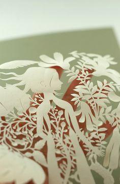 New Papercut (Inner Seeds) by Elsita (Elsa Mora), via Flickr