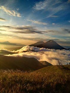 Gunung Prau, Pintu Menuju Surga Puncak Dieng (Foto:Bonafeed)