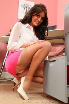 Secretary Stockings Sexy office on pinterest  <b>secretary</b>, nylons and <b>stockings</b>