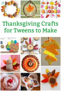 Keep the tweens busy with this collection of creative Thanksgiving crafts for older kids. More challenging and engaging for older kids. Turkeys, gratitude and more! Craft Projects For Kids, Crafts For Kids To Make, Crafts For Teens, Art For Kids, Thanksgiving Activities For Kids, Art Activities For Kids, Kids Thanksgiving, Creative Arts And Crafts, Fun Crafts