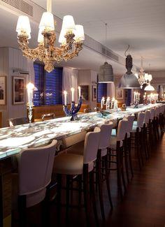 Restaurant A'Trego, Monaco ::  Philippe Starck