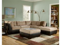 Ashley Living Room 62700 Sectional - Ernies in Ceresco - Ceresco, NE