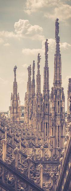 Roof of the Milan Duomo