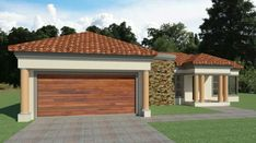 3 Bedroom House Plans South Africa | House Designs | NethouseplansNethouseplans House Plans For Sale, Free House Plans, House Plans With Photos, Garage House Plans, Small House Plans, Three Bedroom House Plan, 3 Bedroom House, Double Storey House Plans, Tuscan House Plans