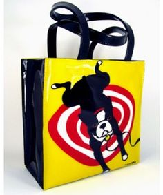 Marc Tetro Boston Terrier Tote Bag.  @Melissa Squires Taylor!