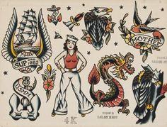 10 Best Tattoo Flash Images Flash Tattoo Vintage Flash Vintage Tattoo