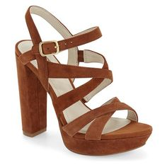 On SALE at 40% OFF! morgan platform sandal by BCBGeneration. Thin, crisscrossing straps shaped from supple leather top a trend-savvy sandal fitted with a flir...