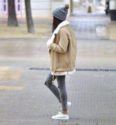 Federica L. sur Instagram : Cozy Winter ❄️⛄️ Ce look est en ligne sur le blog! ➜ www.junesixtyfive.com #ootd #outfit #wiwt
