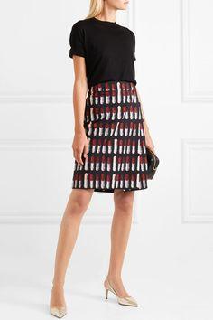 Gucci Embellished metallic tweed skirt  24efadcae7