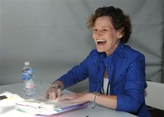 """Judy Blume created a safe space for girls to talk about being girls--from masturbation & menstruation to loss of virginity & any other topic. She joined a fight against an attempted ban on Stephen Chbosky's """"The Perks of Being a Wallflower"""" writing a piece on censorship: """"But it's not just the books under fire now that worry me. It is the books that will never be written. The books that will never be read. And all due to the fear of censorship. As always, young readers will be the real losers."""""""