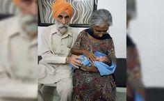 Esta mujer de 70 años se convierte en madre por primera vez. Así lo consiguió