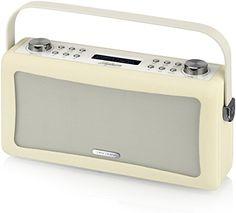 VQ Hepburn DAB/DAB+/FM Radio and Bluetooth Speaker - Radiant Orchid: Amazon.co.uk: TV