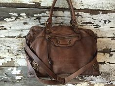 Soft Italian Leather Handbag by BaccariHandbags on Etsy